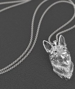 German Shepherd Pendant Necklace for German Shepherd Lovers German Shepherd Necklace GlamorousDogs
