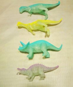 Glowing Dinosaur Toys - 8 Pieces Set Stunning Pets