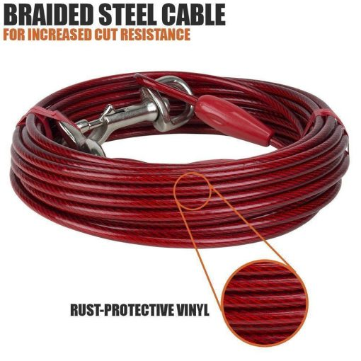 Heavy Helicopter Extra-Large Cable for dogs up to 125 pounds Essentials Stunning Pets