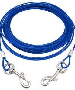 Heavy Helicopter Extra-Large Cable for dogs up to 125 pounds Essentials Stunning Pets Blue 10M