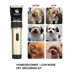 HOMEGROOMER™ X: Low Noise Pet Grooming Kit grooming FreeGift