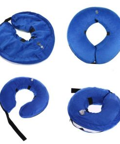 INFLATABLECOLLAR ™: The Cone to Help Dogs Heal Faster Without Limiting Them Stunning Pets S Blue