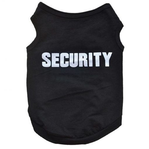 K9 Security Chihuahua Cute Vest GlamorousDogs