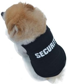 K9 Security Chihuahua Cute Vest GlamorousDogs XS
