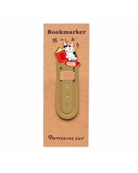 Kitty Metal Bookmark Clip Stunning Pets Red book