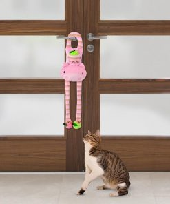 Latest Cat toy door knob hanging cat teaser Stunning Pets
