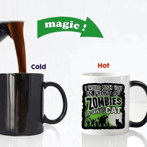 Magical Color Changing Cat Mug Stunning Pets