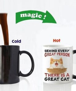 Magical Color Changing Cat Mug Stunning Pets magic mug 2 301-400ml