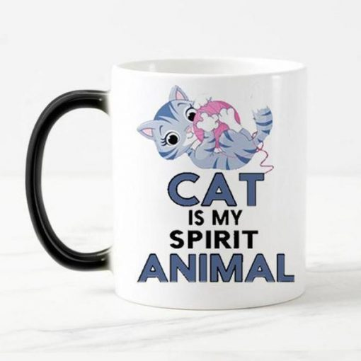 Magical Color Changing Cat Mug Stunning Pets magic mug 4 301-400ml