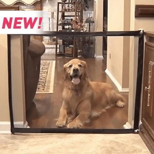 Magic Gate Portable Folding Safe Guard For Pets Indoor Training Stunning Pets