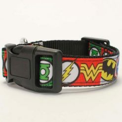 Marvel Avengers Comic Dog Supplies (collar/leash/ belt/key fob) + Free Shipping Stunning Pets dog collar set