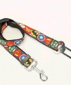 Marvel Avengers Comic Dog Supplies (collar/leash/ belt/key fob) + Free Shipping Stunning Pets safety belt set