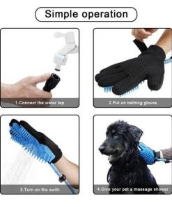 MASSAGEBATH™: Pet Bathing & Massaging Glove grooming GlamorousDogs