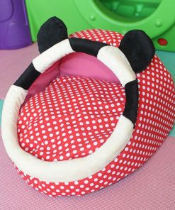 Minnie Mouse Pet Bed Home accessories Stunning Pets red dot 35 x 37 cm