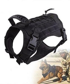 Multi-functional K9 Tactical Military Police Harness K9 Harness Glamorous Dogs