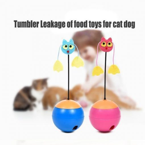 Multifunctional Tumbler Teaser Cat toy July Test Stunning Pets