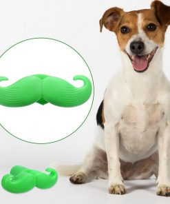 Mustache Chewing Squeaky Indestructible Dog Toy | Free Shipping Stunning Pets