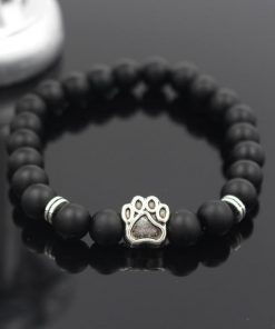 Natural Stone Paw Bracelet Essentials Stunning Pets Model 5 size s