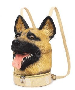 New Fashion 3d Backpack Dog Avatar Backpack Trend Casual Creative Backpack Stunning Pets Default Title