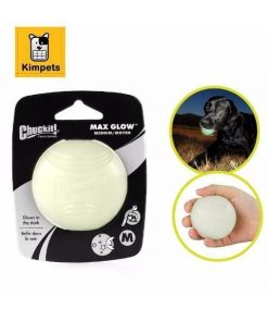 Night Glowing Ball Stunning Pets White S