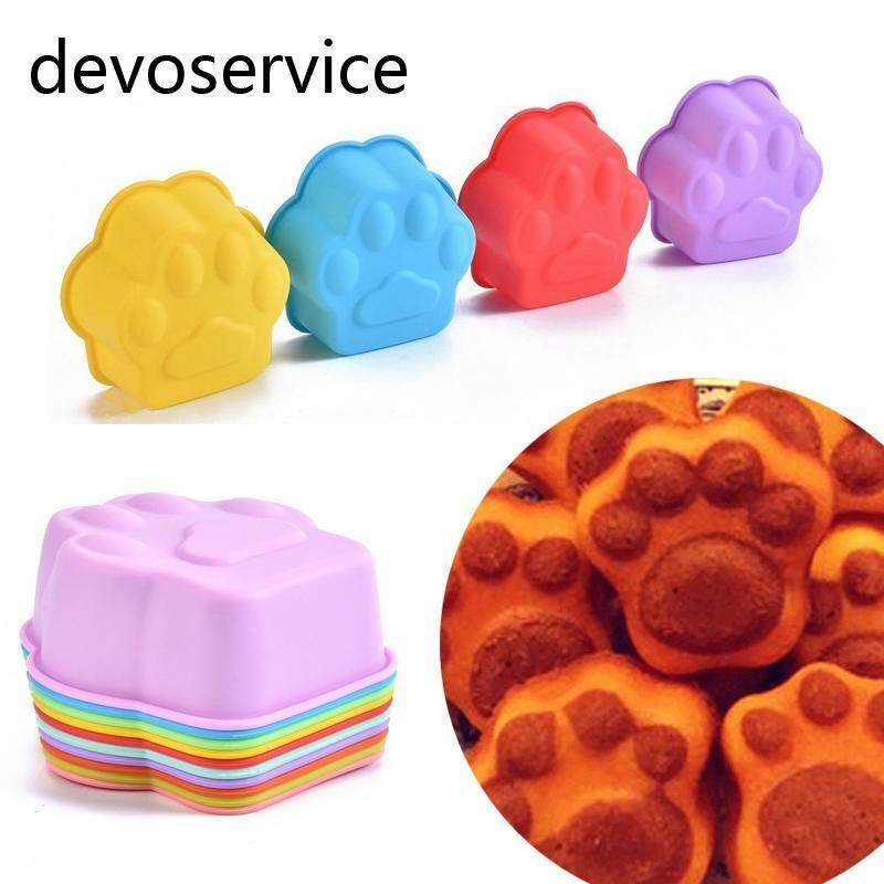 Paw-Shape Silicone Molds Stunning Pets