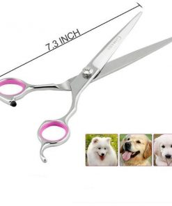 Perfect Thinning, Straight, Curved twith Comb for Long & Short Hair The HOMEGROOMER