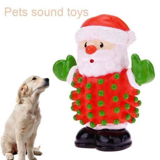 Pet Chew Santa Squeaky Toy Stunning Pets Default Title