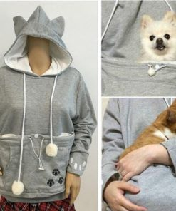 Pet Holder Hoodie GlamorousDogs