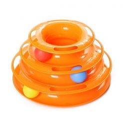Petstagess®: Cat Ball Track Toy Fun Glamorous Dogs Shop - Glamorous Accessories for Your Dog + FREE SHIPPING Orange