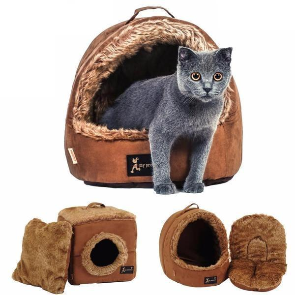 Pet Suede Tent Bed Stunning Pets