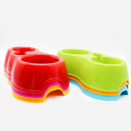 Popular Pets Colorful Automatic Dual-drinking bowl Stunning Pets