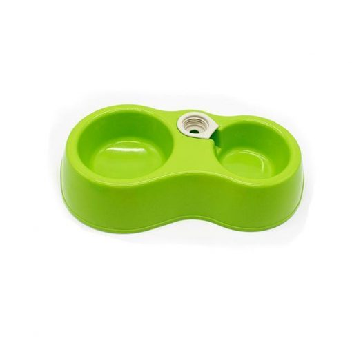 Popular Pets Colorful Automatic Dual-drinking bowl Stunning Pets Green