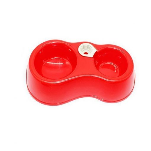 Popular Pets Colorful Automatic Dual-drinking bowl Stunning Pets Red