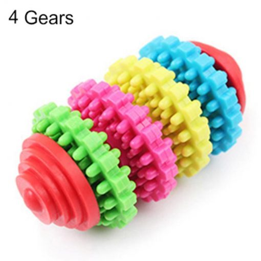 Premium Dog Teeth Cleaning Toy Stunning Pets Multicolor 4 Gears Chew toy
