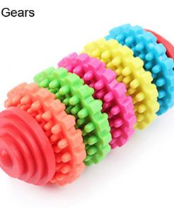 Premium Dog Teeth Cleaning Toy Stunning Pets Multicolor 5 Gears Chew toy
