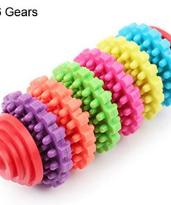 Premium Dog Teeth Cleaning Toy Stunning Pets Multicolor 6 Gears Chew toy