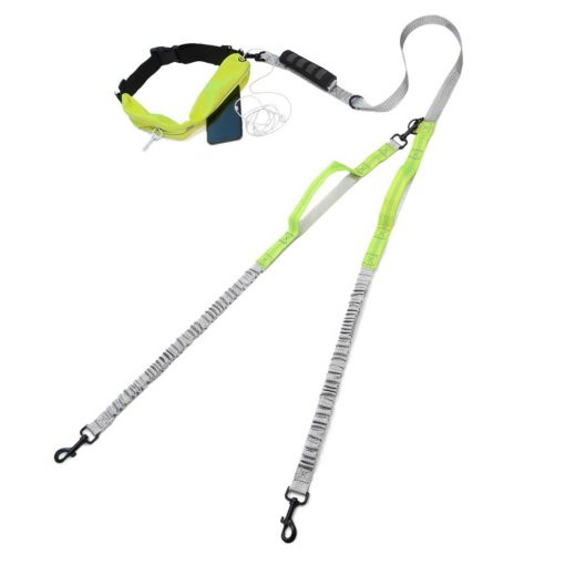 Best Elastic Double Leash For Dogs - Super Useful For Running 1