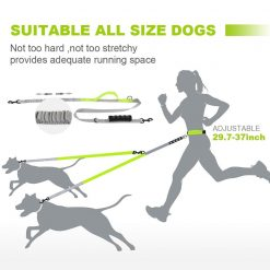 Best Elastic Double Leash For Dogs - Super Useful For Running 25