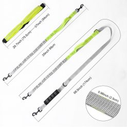Best Elastic Double Leash For Dogs - Super Useful For Running 15
