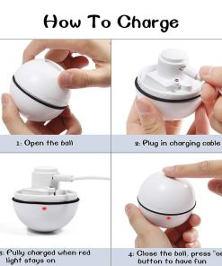 how to charge the smart ball