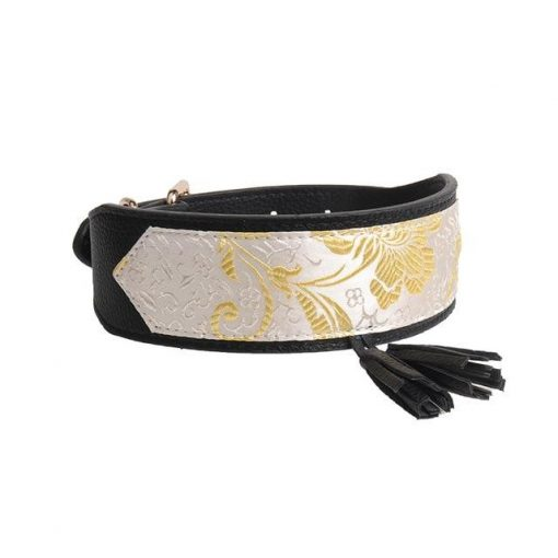Luxury and Strong Dog Leather Collars - 5 Different Patterns 3