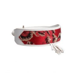 Luxury and Strong Dog Leather Collars - 5 Different Patterns 10