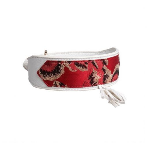 Luxury and Strong Dog Leather Collars - 5 Different Patterns 2