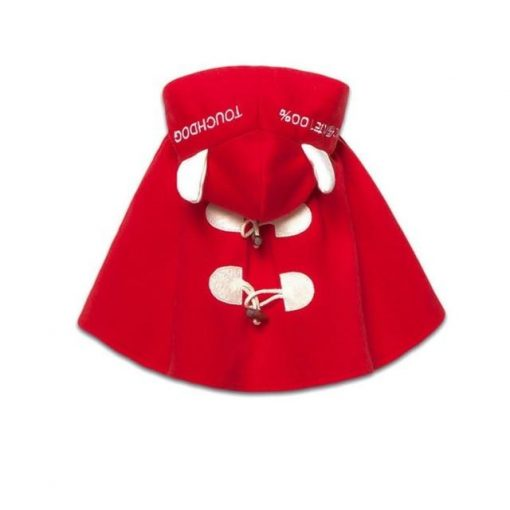 Best 100% Cotton Dog Cloak For Winter (Several Size Options) 1