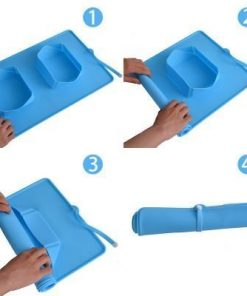 ROLLABLE™: Dog Mat For Food & Water Dog Bowl GlamorousDogs