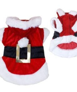 Santa Claus Dog and Cat Costumes GlamorousDogs Santa Costume L