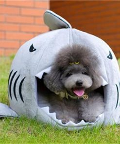 Shark-Shaped Pet Bed Stunning Pets