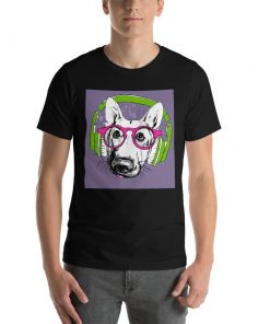 Short-Sleeve Unisex T-Shirt GlamorousDogs Black XS