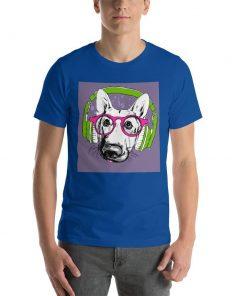 Short-Sleeve Unisex T-Shirt GlamorousDogs True Royal S