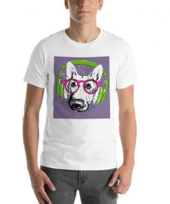 Short-Sleeve Unisex T-Shirt GlamorousDogs White XS